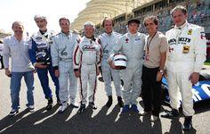 Jacques Villeneuve, Damon Hill, Nigel Mansell, Mario Andretti, Emerson Fittipaldi, Jackie Stewart, Alain Prost, and Jody Scheckter | Formula 1 photos | ESPN F1