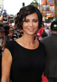 Catherine Bell Photos Photos - Catherine Bell attends the premiere of Disney's 'Planes: Fire & Rescue' at the El Capitan Theatre on July 2014 in Hollywood, California. - 'Planes: Fire & Rescue' Premieres in Hollywood — Part 3 The Good Witch Film, Cathrine Bell, Lisa Bell, Short Layered Haircuts, London, Cute Hairstyles, New Hair, Hair Beauty, Beauty Tips