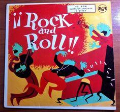 """7"""" ELVIS PRESLEY+3 Rock and Roll - PB 49645 (3-20154) -  Spain -"""