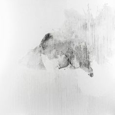 Gianni Politi On Feeling sacrificable - Deposition n.02 - 2010 - Graphite and painting on canvas - 190x190cm