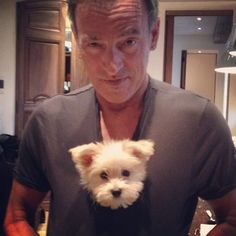 Bruce Springsteen with Jessica's puppy - Offici...