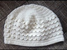 Baby Knitting Patterns Beanie Crochet pattern for a children& cap with shell pattern for a head circumference of . Easy Crochet Hat, Crochet For Kids, Crochet Yarn, Crochet Hooks, Baby Knitting Patterns, Crochet Patterns, Knitting Socks, Knitted Hats, Easy Knitting