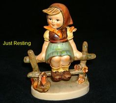 Hummel figurine - Just Resting