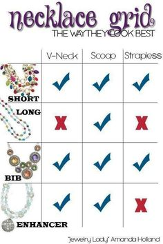 I love this cheat sheet!! :) Premier Designs Jewelry Collection ShawnaWatson.MyPremierDesigns.com access code: bling