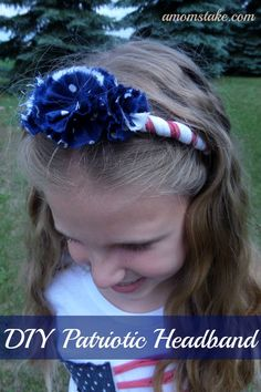 DIY Patriotic Headband tutorial