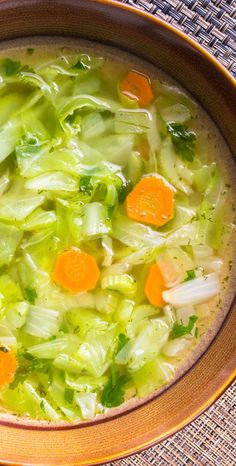 Sprouted Vegetable Soup Recipe - from our 1º of Change Purification Program Cookbook