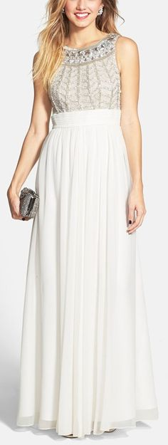 Gorgeous detailing on the bodice http://rstyle.me/n/vyib6n2bn