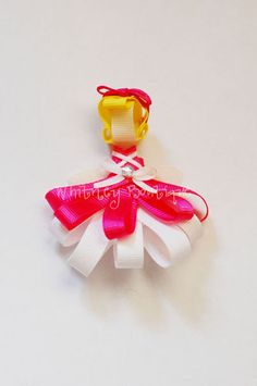 Disney Cinderella Ribbon Sculpture Hair Clip
