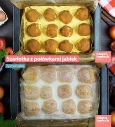 Szarlotka z połówkami jabłek - Pyszna i szybka! Muffin, Breakfast, Morning Coffee, Muffins, Cupcakes
