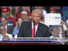 ABC News cuts Trump's speech when he says Hillary founded ISIS