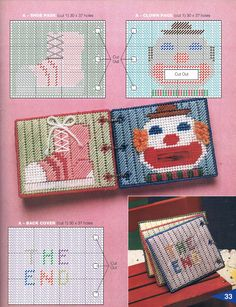 Plastic Canvas Crafts, Plastic Canvas Patterns, Canvas Learning, J Craft, Learning Toys For Toddlers, Quiet Book Patterns, Christmas Canvas, Barbie, Toddler Books