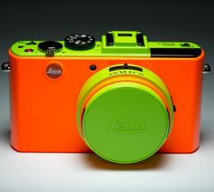 ColorWare Custom Leica Camera - thinking about adding neon to our color palette. What do you think?