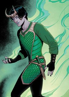 Loki - Young Avengers #11 (HOW CAN A COMIC CHARACTER BE SO HOT LOKI YOU RAKISH LITTLE --)