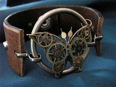 Steampunk cuff