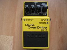 Boss Dual Overdrive SD-2 #kingbathmat #johnbassett #music #acoustic #prog #progrock #guitar #pedal #fuzz #distortion