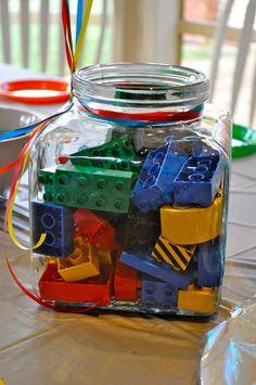 Lego wedding centrepiece