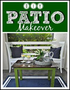 Patio Makeover sawdust2stitches