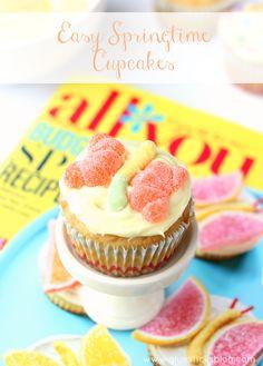 Easy Springtime Cupcake Ideas