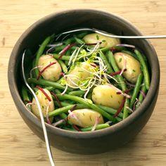 Omelette Legume, Vegan Food, Vegan Recipes, Green Beans, Barbecue, Potato Salad, Potatoes, Vegetables, Ethnic Recipes