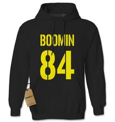 Boomin #84 - How's Business? Football Adult Hoodie Sweatshirt