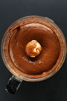 Creamy, thick, nutritionally-dense chocolate avocado peanut butter pudding! Just 6 ingredients, naturally sweetened with banana, and so delicious.