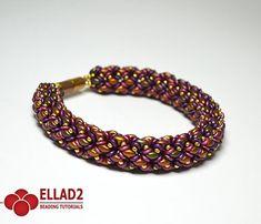 Tutorial Duoletta Bracelet von Ellad2 auf Etsy