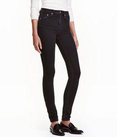 Skinny high jeans eller jeggins fra H&M, str. 32/32.