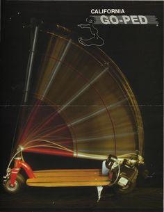 Retro Go-ped booklet (front) 1989.