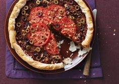 Turkish Eggplant Pie - This delicate vegetable pie is seasoned with spices you'd find in a Turkish bazaar.