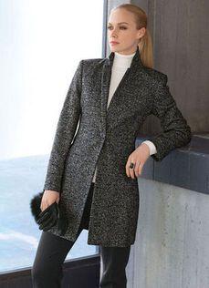 Tweed frock coat