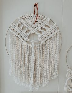 Macrame Hoop Wall Hanging // Macrame Wall Art // Gold // Modern Macrame //  Boho Home // Nursery Decor // Wall Art // Wall Decor // Tapestry