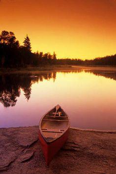 Whiteshell-Fluss, Whiteshell Provincial-Park, Ruder