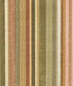 Robert Allen Berra Stripe Cameo Fabric - $28.15   onlinefabricstore.net