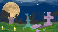 An example of a Halloween E-Card made with Moovly.  Login to www.moovly.com and use the the - free! - Halloween templates in the Moovly Marketplace to make your own Halloween e-cards or party invitations!  Or just send scary Halloween messages to your family and friends with your own animated video...