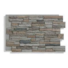 Laguna Faux Stone - Beach Stone Siding Panels, Faux Stone Siding, Faux Stone Walls, Stone Veneer Panels, Faux Brick, Stone Veneer Exterior, Stone On House Exterior, Stone Facade, Graphite