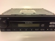 2004 Subaru Legacy OEM Single Din Cd Player AM FM Radio | eBay Motors, Parts & Accessories, Car Electronics | eBay!