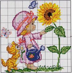 Diyagram nakışı çiçek rüyalar (Harika iğne)