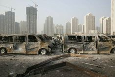Tata Motors makes quarterly loss after Tianjin explosion Volkswagen, Vw T5, Tianjin, Tata Motors, Jaguar Land Rover, New York Skyline, Travel, Image, Post Apocalyptic