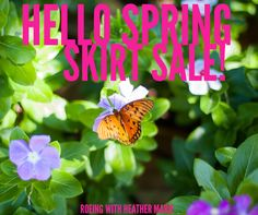 It's the first day of spring and time to pull out those skirts and dresses ladies!!!  Join me tonight in my Facebook VIP group for a LulaRoe spring skirt sale!  Get yourself some beautiful, unique, and oh so comfortable beauties for the season!  www.facebook.com/groups/roeingwithheathermarie