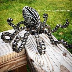 Welding Art Projects, Metal Art Projects, Metal Crafts, Welding Crafts, Diy Welding, Welding Ideas, Diy Projects, Recycled Metal Art, Scrap Metal Art