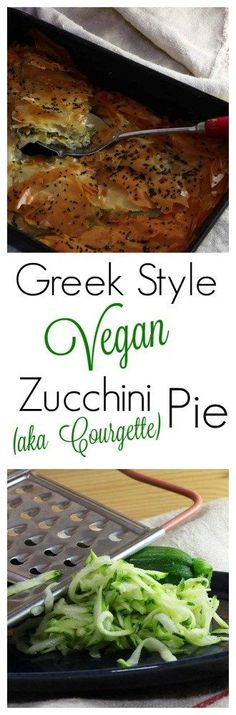 Whether you call them Courgettes or Zucchini, this Greek inspired Vegan Pie will be loved by everyone. Perfect for using up all your Summer Squash gluts and will happily feed a crowd too!