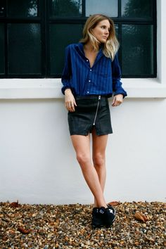 perfectly paired- women in men's wear