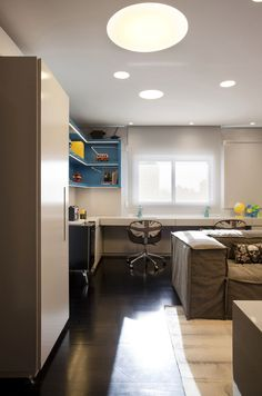Interior Design Idea - 11 Essentials For Kids Homework Stations // Keep it bright -- Positioning the study space near a window or in a well lit spot makes sure that your child will have enough light to see what they're doing and puts less of a strain on their eyes, which can help prevent fatigue and headaches.