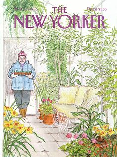The New Yorker Cover - March 1985 Poster Print by Charles Saxon at the Condé Nast Collection The New Yorker, New Yorker Covers, All Poster, Poster Prints, Posters, Wall Collage, Framed Artwork, Thing 1, Magazine Art