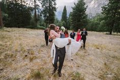 Melissa and Arian's wedding in Yosemite