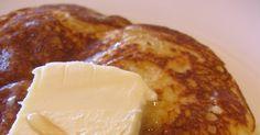 IHOP pancakes   1 1/4 c. flour  1 tsp. baking powder  1 tsp. Baking soda  pinch of salt  1 egg, beaten  1 1/4 c. buttermilk  2 Tbsp. mel...