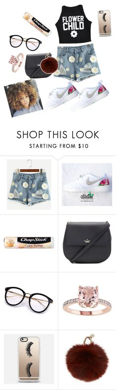 """""""Untitled #157"""" by swag345 ❤ liked on Polyvore featuring Chapstick, Kate Spade, Casetify and Yves Salomon"""