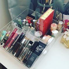 Makeup storage! ❤️ IKEA UK godmorgon £15