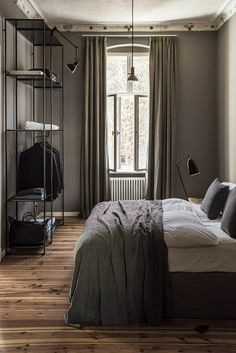 'Minimal Interior Design Inspiration' is a biweekly showcase of some of the most perfectly minimal interior design examples that we've found around the web - Interior Design Examples, Interior Design Inspiration, Home Interior Design, Interior Architecture, Bedroom Inspiration, Interior Styling, Bedroom Apartment, Home Bedroom, Bedroom Decor