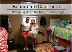 how my idea roommate should be When you first move in with your college roommate (either in an apartment or in the residence halls) you may want — or have — to set up a roommate agreement or roommate contract while not usually legally binding, roommate agreements are a great way to make sure that you and your college.